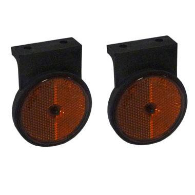 Side amber reflectors