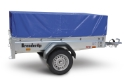 1205S Brenderup Trailer with High Cover