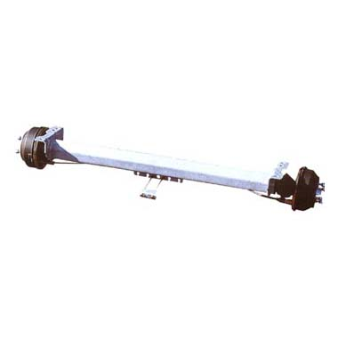 Al-ko 750-1000kg Braked Single Axle