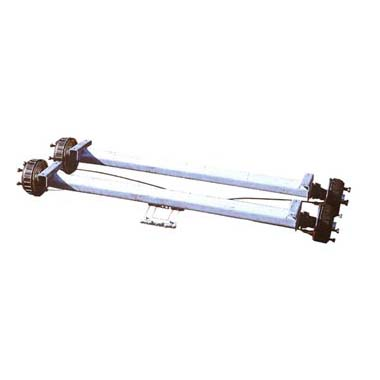 Al-ko Water Resistant Braked Double Axle 2001kg to 2700kg