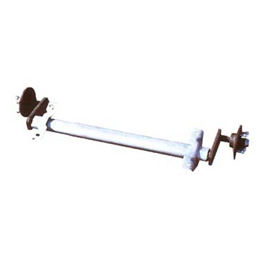 Al-ko 501-750kg Unbraked Single Axle- Straight Arms
