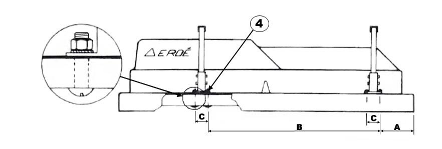 BC001 Erde Load Bars fitting Diagram 3
