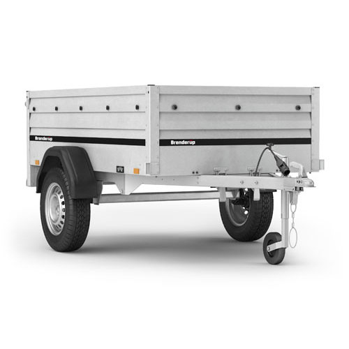 Brenderup 1205SXL goods and camping trailer
