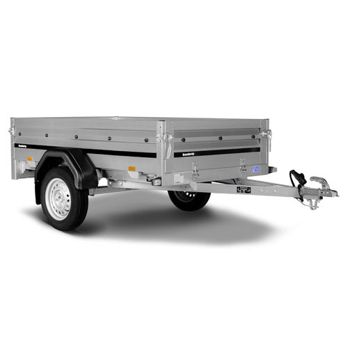 Brenderup 2205S goods and camping trailer