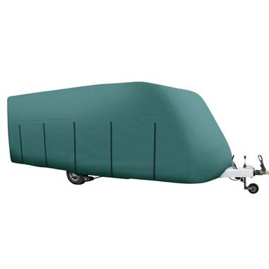 Caravan Cover - Green - Caravans 12ft to 14ft (3.65m to 4.26m)
