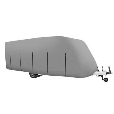 Caravan Cover - Grey - Caravans 14ft to 17ft (4.26m x 5.18m)