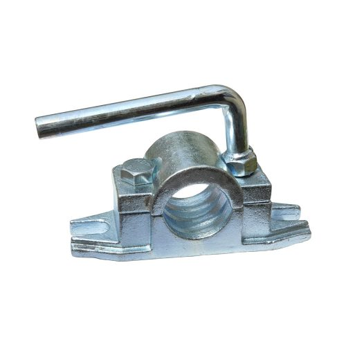Cast ribbed steel clamp 48mm