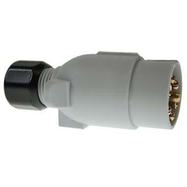 12S Caravan Plastic 7 pin Plug