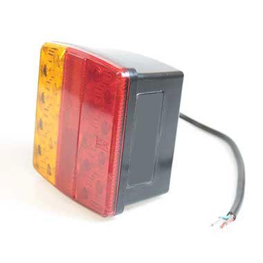 LED12v Square Combination Lamp