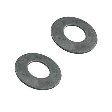 Galvanised washers (Pack of 2)