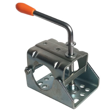 Pressed steel clamp for 60mm tube