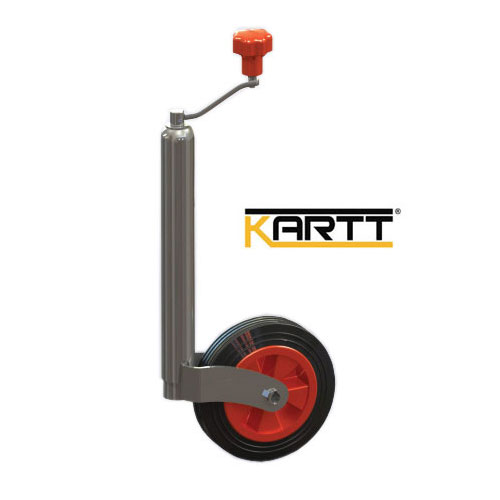 Kartt Orange 48mm jockey wheel with Plastic Rim