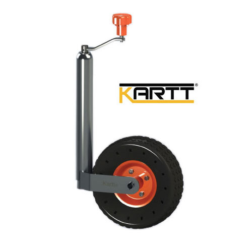 Kartt Orange 48mm jockey wheel with pneumatic tyre