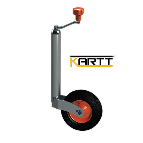 Kartt Orange 48mm jockey wheel with Steel Rim