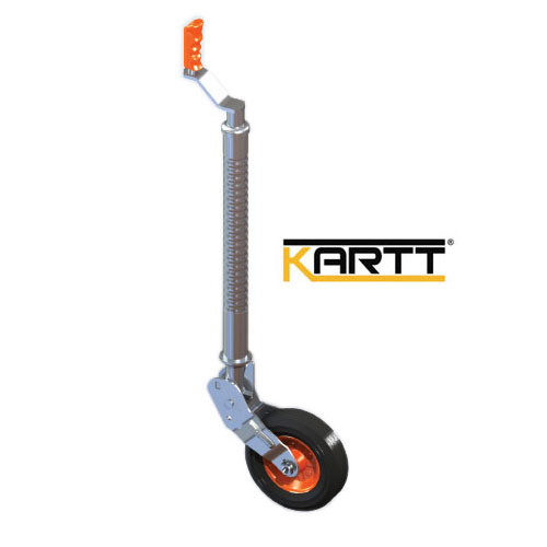 Kartt Orange Auto Lift Ribbed 48mm jockey wheel