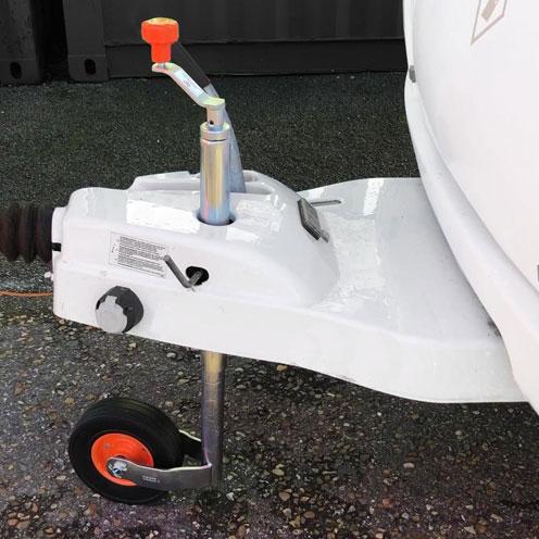 Kartt KJW4808-Caravan Jockey wheel fitted