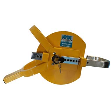 """Lightweight Wheel Clamp for 8"""" to 13"""" Wheels"""