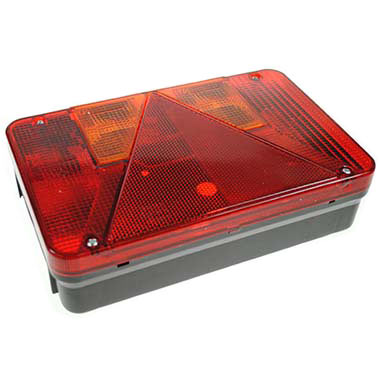 Radex Rectangular Lamp (OFF SIDE)