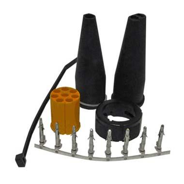 Aspock 8 Pin Plug Kit - Yellow