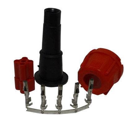 5 Pin Plug - Red