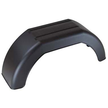 Single plastic mudguard 10 inch