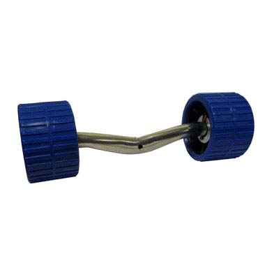 Dumbell wobble side roller