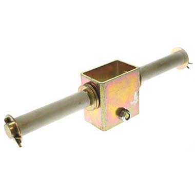 Double side roller bracket 19mm
