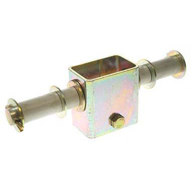Single side roller bracket 19mm