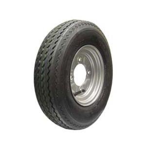 Wheel & Tyre 400/480x8 4 stud 115mm PCD