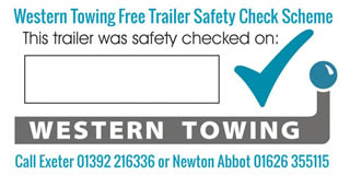 Western Towing Free Safety Check Label