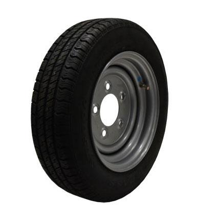 Wheel Rim & Tyre 155/70R12C  5 stud 140mm PCD No Offset