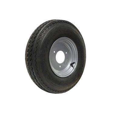 3 Stud Trailer Wheel & Tyre 400/480x8 3 stud 110mm PCD