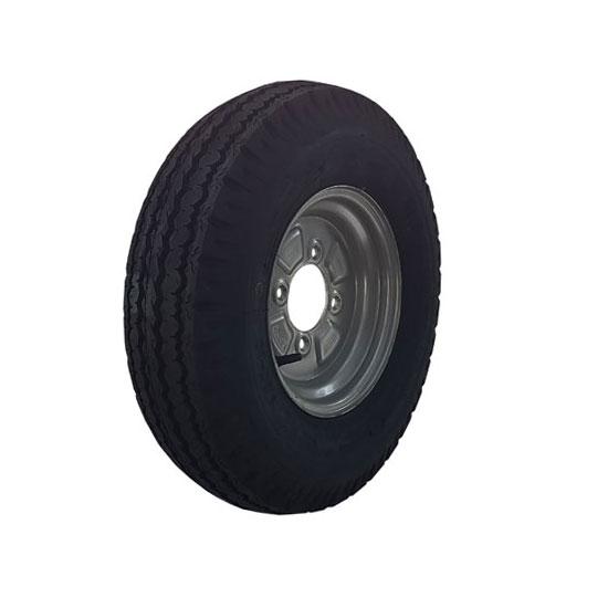 Wheel Rim & Tyre 500x10 4 stud 115mm PCD No Offset