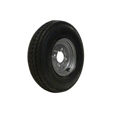 "Wheel & Tyre 400/480x8  6ply 4 stud 4"" PCD"