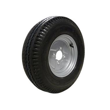 "Wheel Rim & Tyre 500x10 6ply 4 stud 4"" PCD"