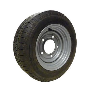 Wheel Rim & Tyre 185/60R12  5 Stud 165.1mm PCD No Offset