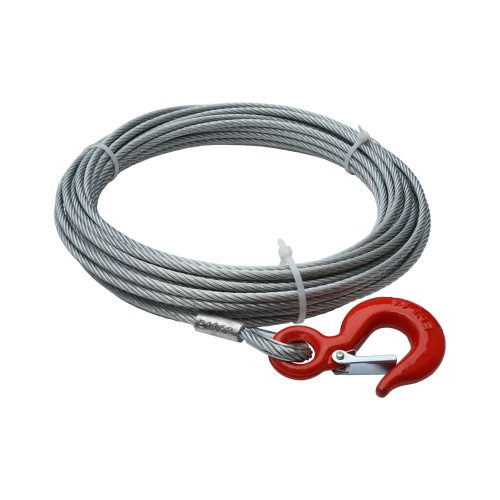 Winch cable 15m long - 6mm diameter - 2350kg
