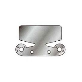 Stainless Steel Bumper Protector Plate with socket mounts
