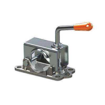 Kartt Orange Pressed steel clamp with cast base 48mm