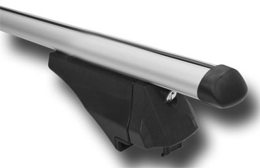 M-Way Avia 1.35m Roof Bars For Integrated & Raised Roof Rails